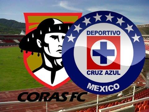 Coras (1-4) Cruz Azul Copa MX 2016 Resumen