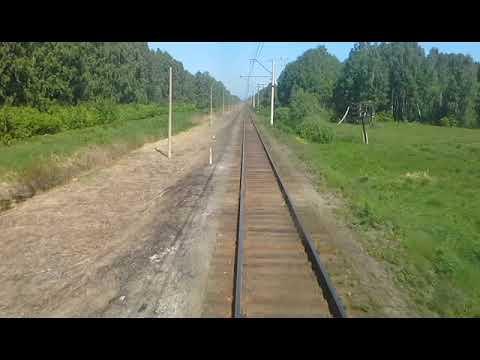 Пригородный поезд 6773. Егоршино - Алапаевск.