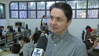 Tecnologia na educação incentiva o aprendizado de alunos   G1 Sorocaba Jundiaí   TEM Notícias 1ª Edi