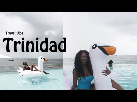 TRINIDAD TRAVEL VLOG - 50TH HALL PARTY, ALL WHITE BOAT PARTY, THANKSGIVING