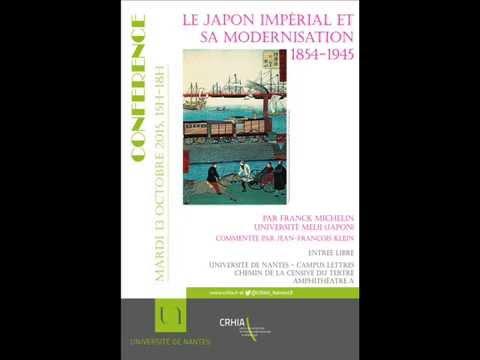 Conférence Le Japon impérial et sa modernisation, 1854-1945