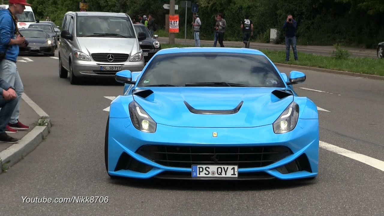 Cars & Coffee Stuttgart 2016 - Supercar Madness - YouTube