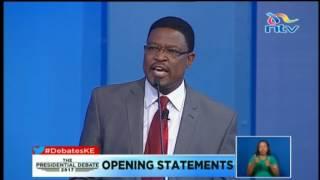 Dr. Japhet Kavinga Kaluyu: I will be the end of corruption #DebatesKe thumbnail