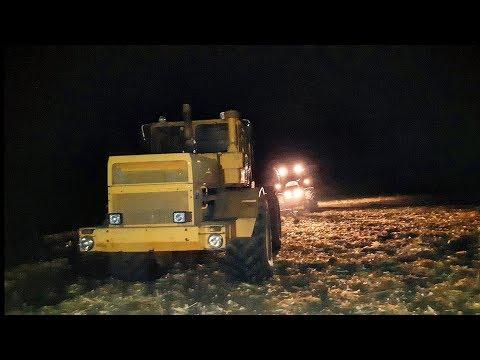 K701 & Кейс Пума 210|P-A 7 & PLN 5-35|Ночная пахота|Тяжёлая вспашка|1-й день пахоты|Moldova
