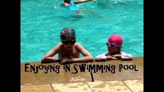 Enjoying in Swimming Pool | Swimming and Jumping in the Pool | Kids Enjoying in Swimming Pool|Events