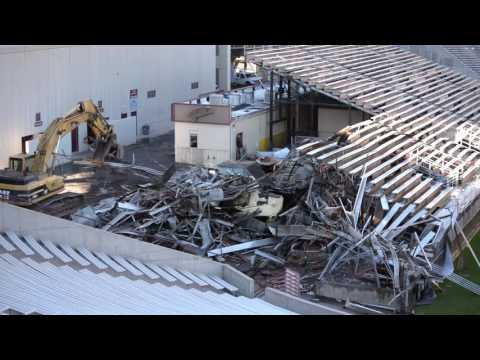 Sun Devil Stadium South End Zone Demolition