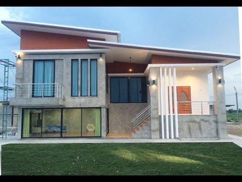 แบบบ้านลอฟต์ปูนเปลือย MD13 จ.กาญจนบุรี