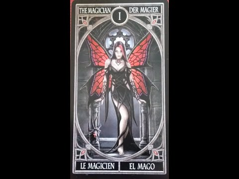 Looking At Gothic Tarot By Anne Stokes