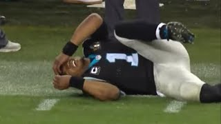 Cam Newton Being a CRYBABY Compilation