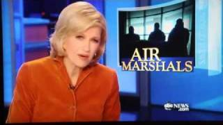 ABC WNT teaser for TSA Federal Air Marshal Service special on Nightline February 7, 2012