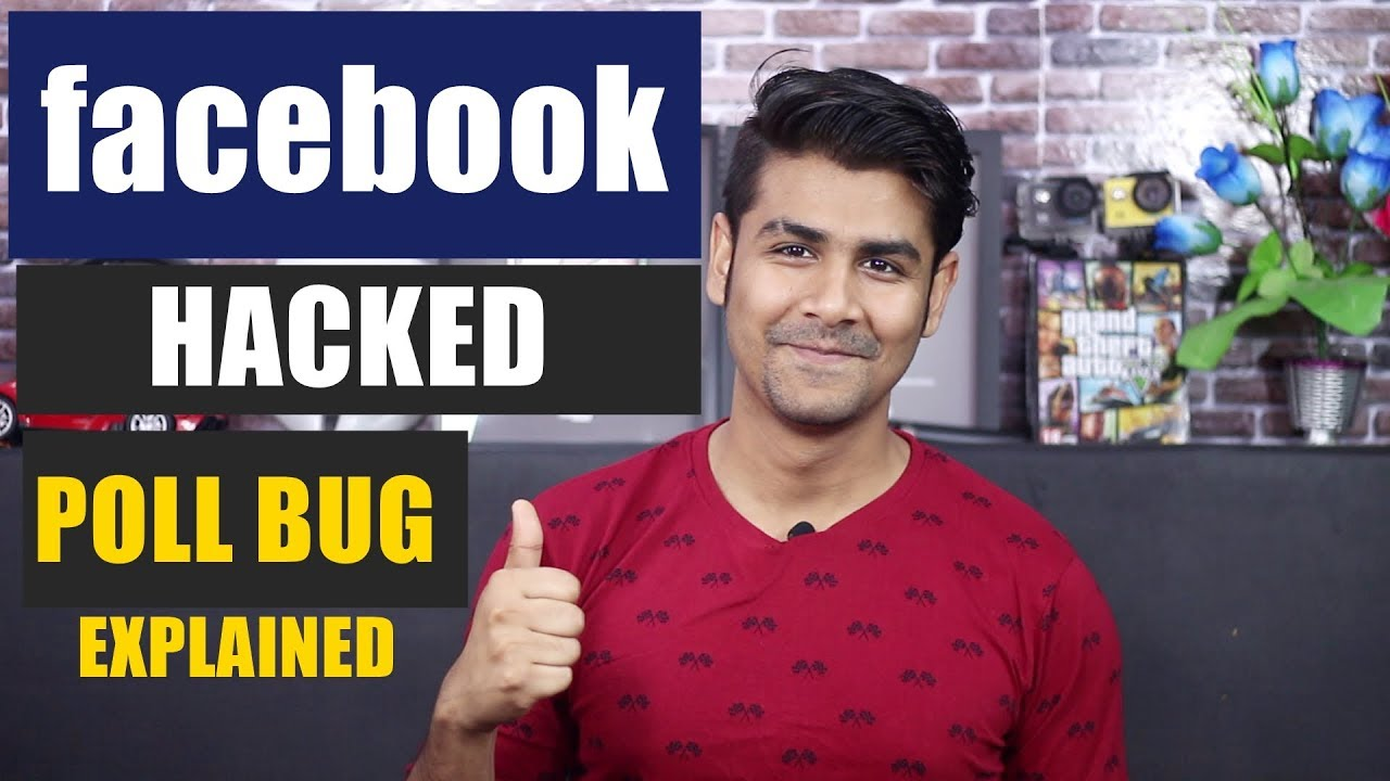 Facebook Poll Bug Explained | Very Simple But Powerful | Patched