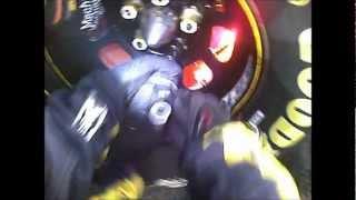 Purple Flaming Rotor! - Nascar Pit Crew Tire Change Pov