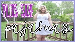 I Hate Lane Bryant But Love Their Pajamas TRY ON HAUL