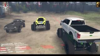 SPINTIRES обзор модов №4 FORD RAPTOR 2017 ZOMBIE EDITION LIFTED