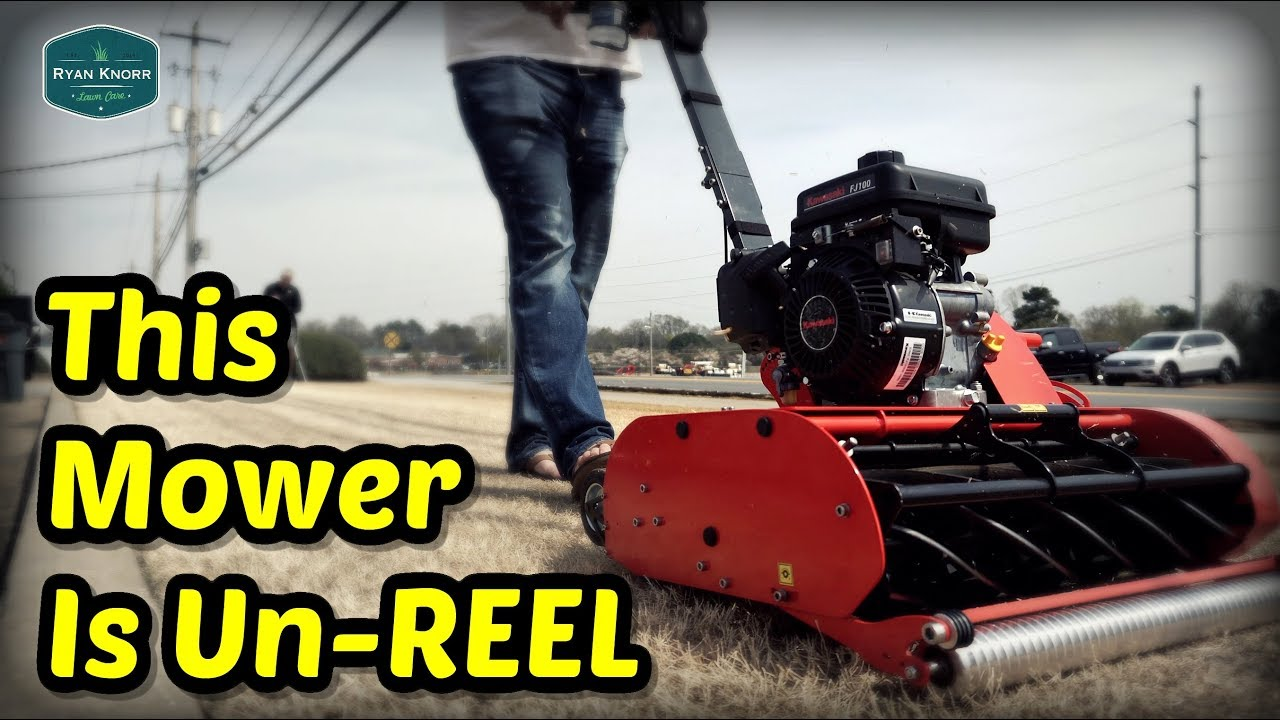 FIRST TIME User REACTS to Swardman Reel Mower + My Georgia Trip