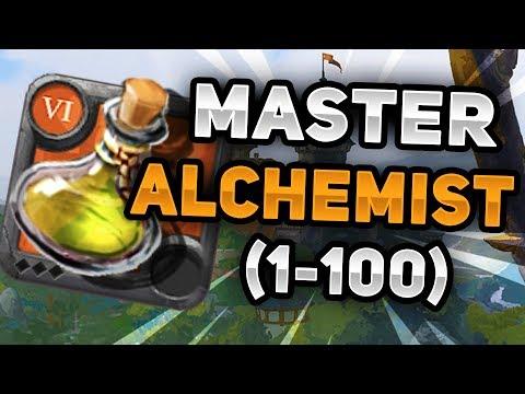 Level 1-100 Alchemist In One Video (Master Alchemist) | Albion Online
