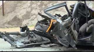 Страшная авария на автодороге Краснодар   Новороссийск 20.06.15