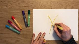 Learn Colors And Letters Glitter Pens  Markers With Happy Music For Kids Children