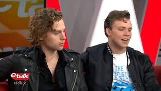 5SOS interview on etalk: Why their accents are 'a big mess'