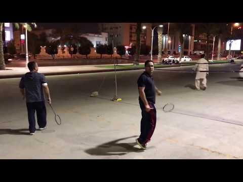 Night Cricket in Riyadh, Saudi Arabia