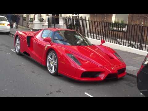 Ferrari Enzo Walkaround on Curzon Street, London