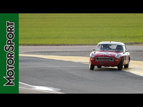 On Track With An MGB   How To Drive – Episode 6