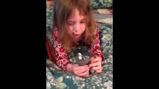 Olivia re-enacts Catbug's