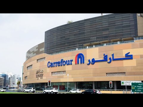 VLOG #101 - shopping for food in Dubai burjuman mall carrefour
