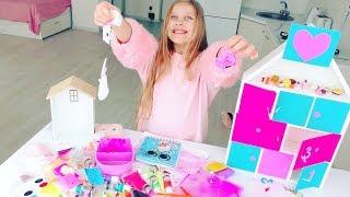 ЛИЗУН КВЕСТ 💖  СКВИШИ и СЛАЙМЫ . Видео для детей. 💖 Slime and Squishy challenge quest