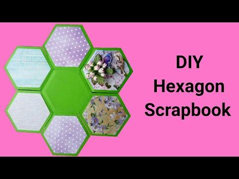 DIY Hexagon Scrapbook | Best Friendship Day Gift |