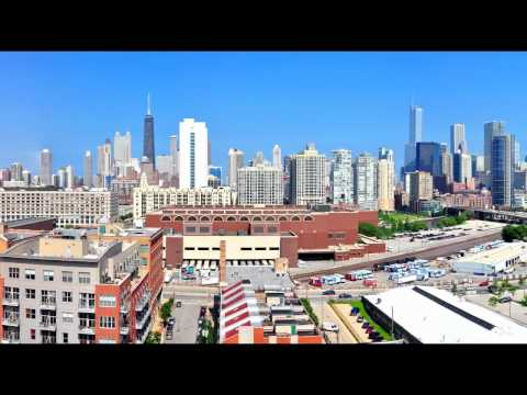 The views from Mondial, River West Chicago