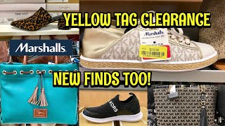 Marshalls Shop With Me Yellow Tag CLEARANCE Designer Shoes & Handbags Michael Kors & MORE