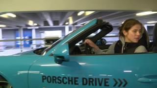 Parking Challenge with Julia Goerges - Porsche Tennis Grand Prix 2016