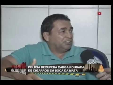 Polícia recupera carga roubada de cigarros em Boca da Mata