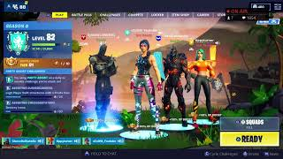 Fortnite Live Stream PS4 Console Streamer Squads! GIFTING RIGHT NOW JOIN!!!