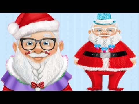 Dress Up Santa - Get Santa-clause Ready for Christmas - Dressing Up Game for Girls - 동영상