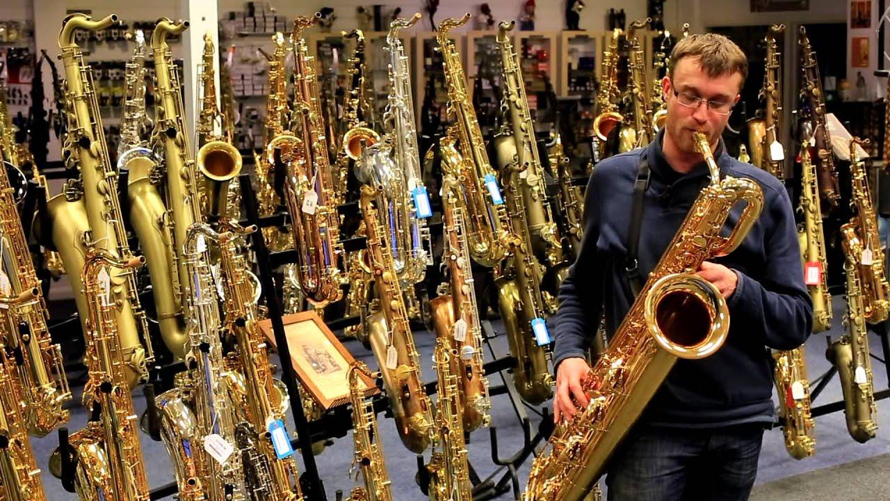 Yamaha Ybs  Baritone Saxophone