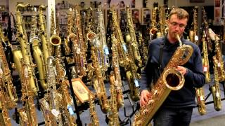 Yamaha YBS-62 Baritone Saxophone