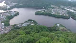 【神奈川】城山と津久井湖【4K】