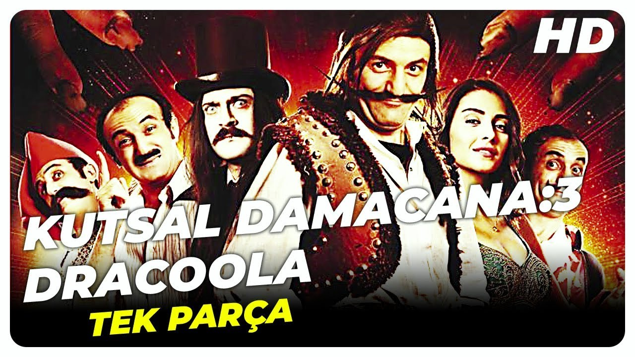 Kutsal Damacana: 3 Dracoola | Türk Komedi Filmi Tek Parça (HD)