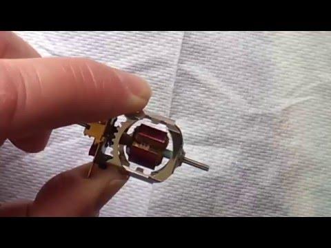 Building a G12 Slot Car Motor