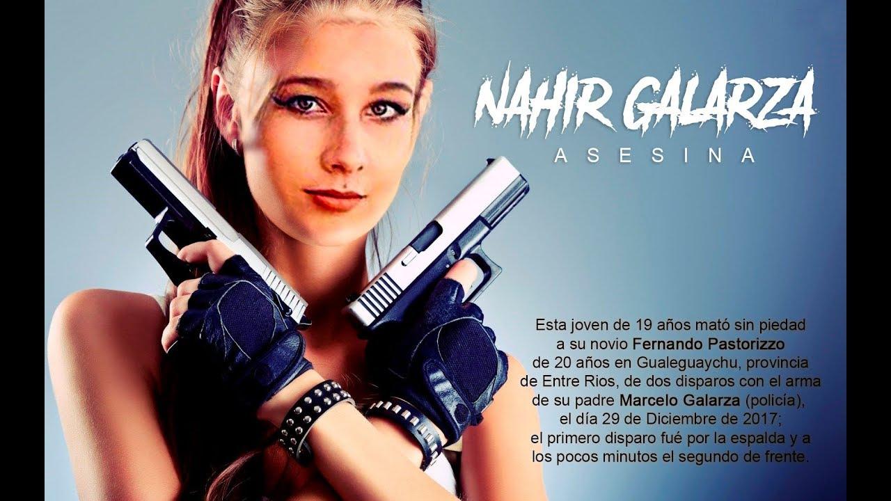 Los mensajes que prueban la violencia de *Nahir Galarza* - YouTube