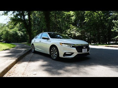 2019 Honda Insight Touring  The Fun Hybrid