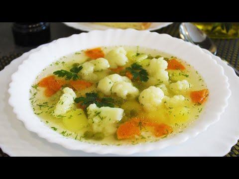 Постный Легкий Овощной Суп! Ну, Очень Вкусный и Быстрый Рецепт