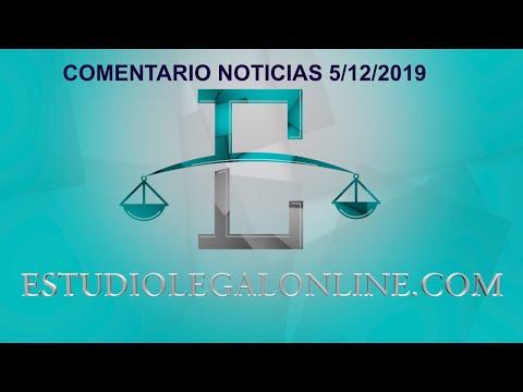 Comentarios Noticias Estudiolegal 5/12/2019 www.estudiolegalonline.com