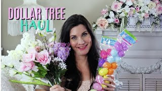 DOLLAR TREE HAUL SPRING / VALENTINES / EASTER 2019