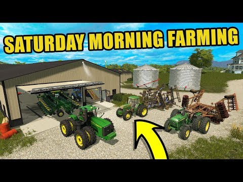 $1,000,000 PLANTING OPERATION   TWO MAN CREW   FARMING SIMULATOR 2017   EP#31