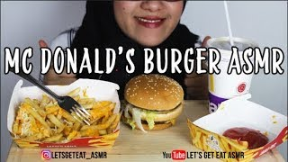 Video #7 Request ASMR Eating Sounds: Mc Donald's Big Mac Burger || ASMR Indonesia download MP3, 3GP, MP4, WEBM, AVI, FLV Oktober 2018