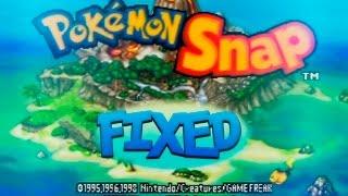 Pokemon Snap- ROM fixed photos problem! /ROM arreglado