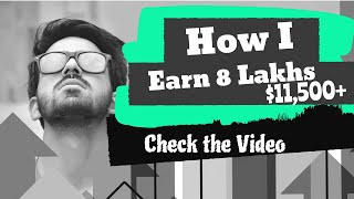 Digital Marketing Course | How I Made 8 Lakhs in 5 months